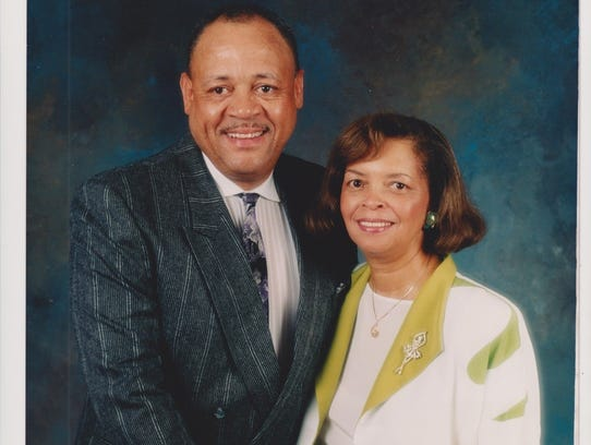Ed Martin, with his wife Hilda.