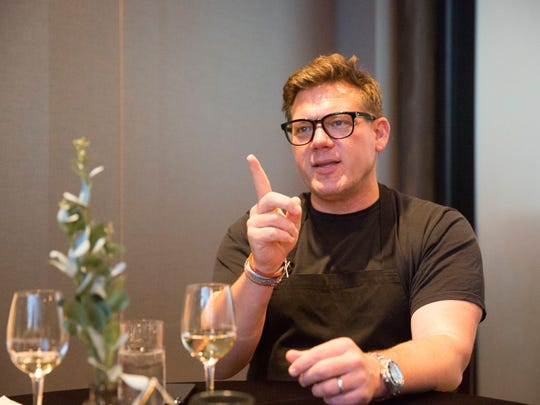 Acclaimed Chef Tyler Florence, Food Network host and