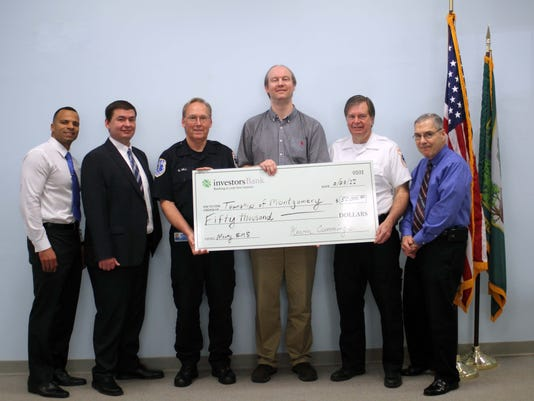 Montgomery: Grant received to support Montgomery EMS funds earmarked for first responder vehicle PHOTO CAPTION