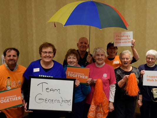 Local multiple sclerosis walk
