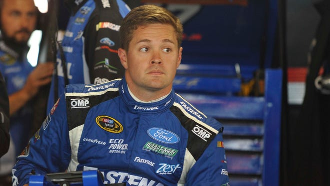 Ricky Stenhouse Jr. says one of his favorite tracks is Bristol Motor Speedway. He finished 16th there in April.