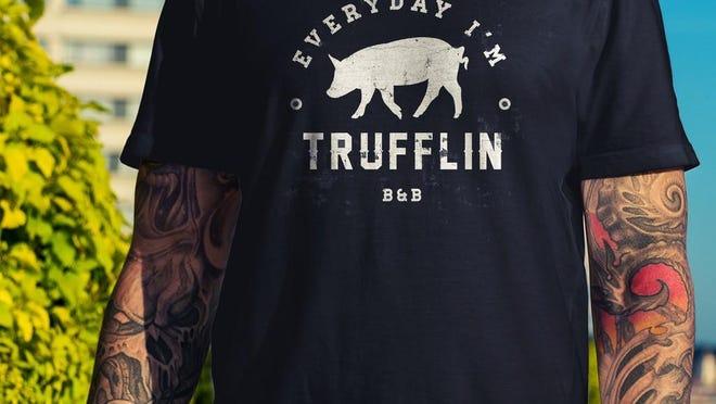 Grab a T-shirt from butcherandbaker.com.
