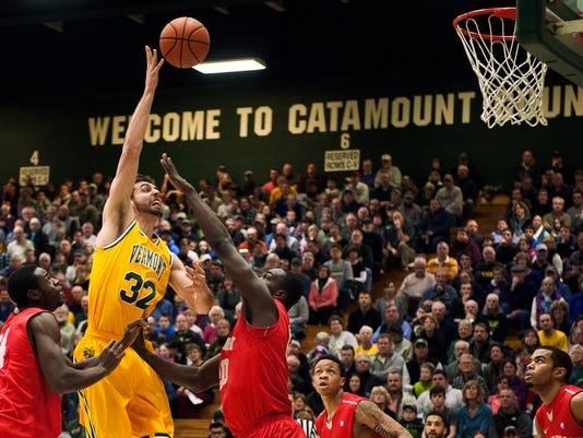 Stony Brook vs. Vermont Men's Basketball 01/10/15
