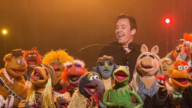 The Muppets joined Jimmy Fallon for his final 'Late Night.'