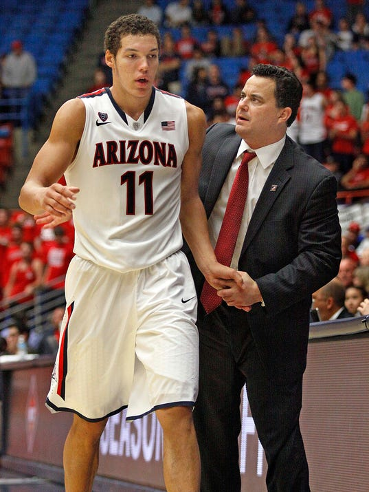 AP Rhode Island Arizona Basketball