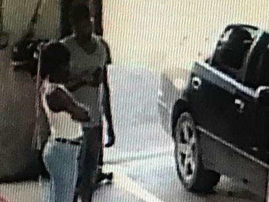A suspect in a spree of vehicle break-ins was captured