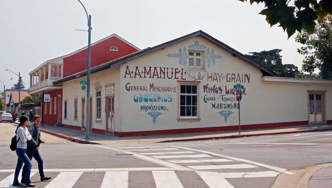 The Cooper-Molera Adobe and barn in Old Montere