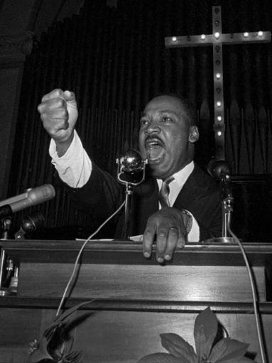 a look at martin luther king jr and the mass media Today we can look back at martin luther king jr and apply his speeches to business practices on social media in a modern age.