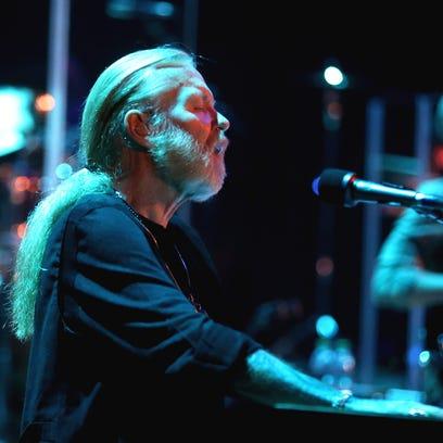 Gregg Allman performs in Kodak Hall at Eastman Theatre