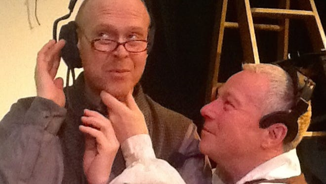 """Andrew Huff and Wayne David Parker star in """"Stones in His Pockets."""""""