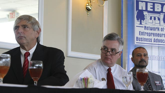 Leon county Superintendent hopefuls took part in a forum Tuesday at the Capital City Country Club.