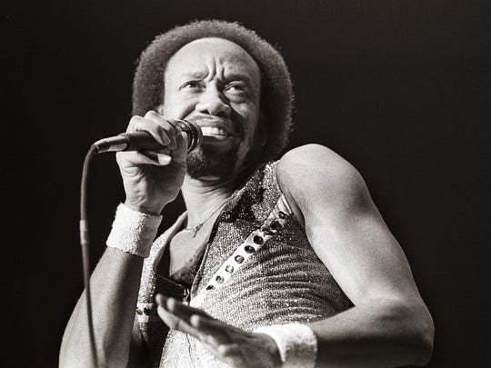 Maurice White, the founder of 'Earth Wind and Fire' performs on stage in this Feb. 28, 1982, image in the Netherlands.