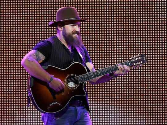 Zac Brown will perform with the Zac Brown Band on May 22 at Klipsch Music Center.