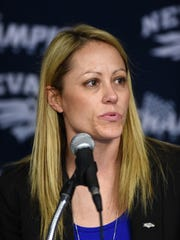 Women's basketball coach Amanda Levens is one of the