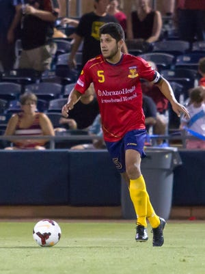 Arizona United SC will get the services of defender Daniel Antunez back for Saturday night's match at Orange City Blues FC.