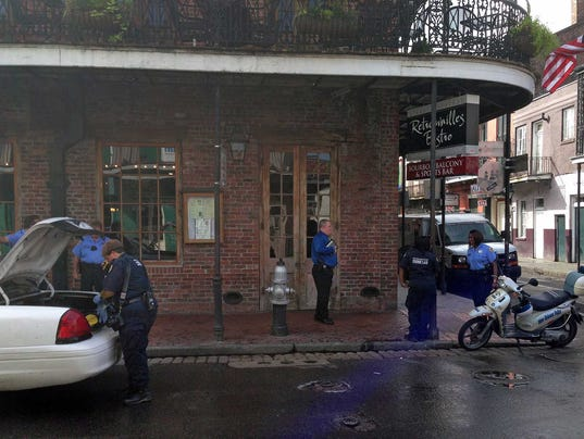 AP CORRECTION Bourbon Street Shooting