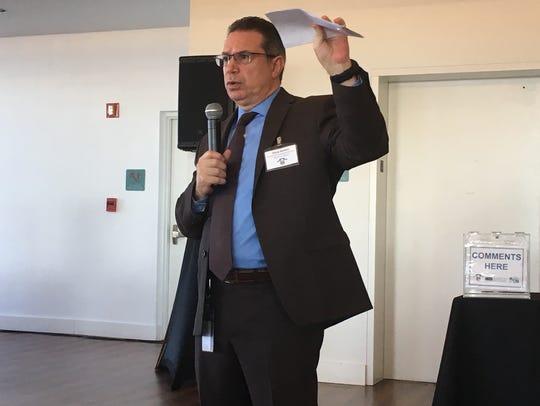 Steve Belden, Fort Myers' community development director,