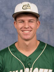 North Carolina-Charlotte baseball player Matt Brooks