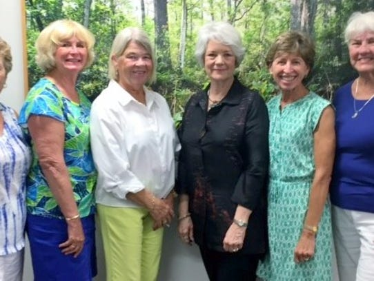 The Marco Ladies Book Club attended the Sue Monk Kidd