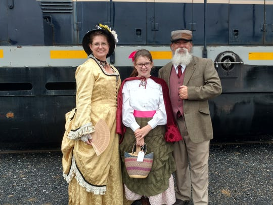 An example of what will be worn during Staunton's Victorian
