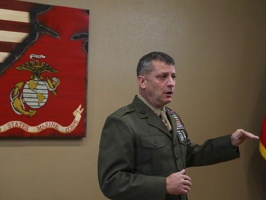 Marine general fired