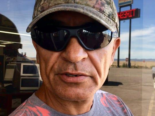 Alvaro Corralez Jr., who works at the Plateau Truck