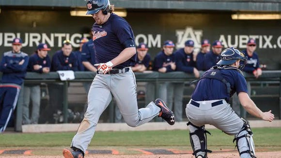 Auburn junior Niko Buentello will be looking to make an impact in the middle of Auburn's order. The question remains where will he be playing between designated hitter or first base.