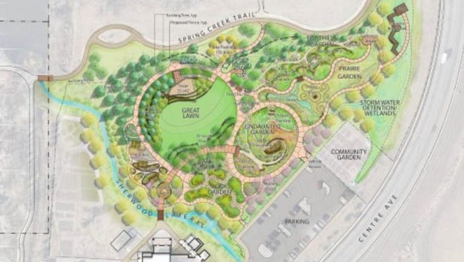 Plans for expanding the Gardens on Spring Creek including adding gardens and a music venue for outdoor concerts.