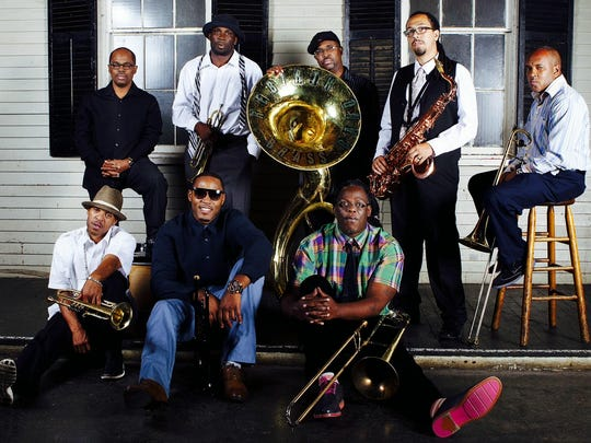 The Rebirth Brass Band.