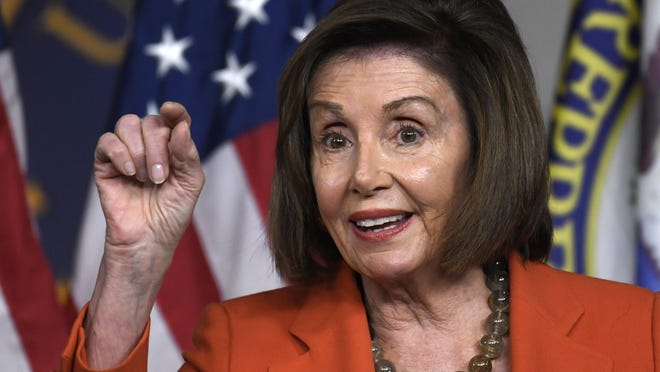 "House Speaker Nancy Pelosi said federal aid for state and local governments through a proposed coronavirus relief bill would amount to ""half of what the Republicans put onto the national debt."" That's Mostly True.."