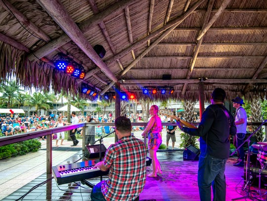 The Betty Fox Band at the 2014 Summerjazz on the Gulf