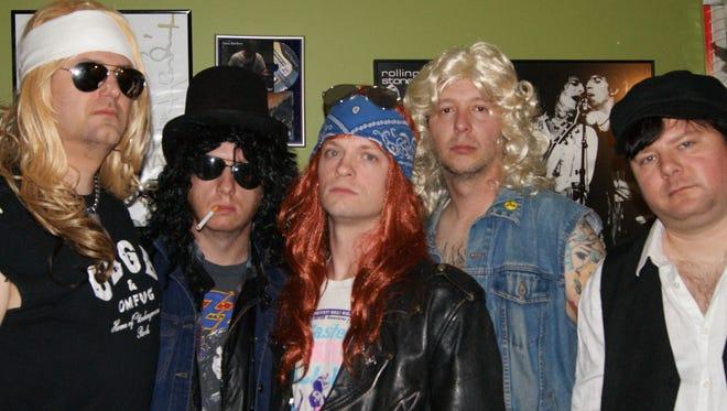 Guns N' Roses tribute act GNFNR performs Friday at the Knickerbocker Saloon.