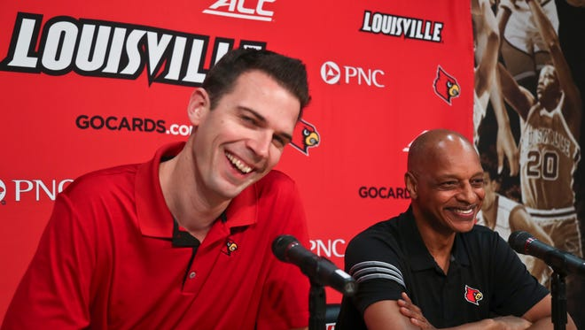 """Interim basketball coach David Padgett said he's known known new assistant Trent Johnson for a long time, since Padgett's high school days in Nevada. Padgett says timing """"couldn't have worked out better."""""""