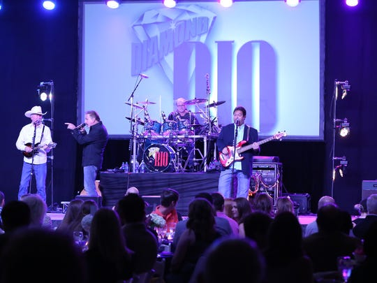 Country artists Diamond Rio headlined the annual scholarship fundraiser at Jackson Christian in 2017.