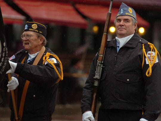 Tompkins County Veterans Day Parade, Ithaca, NY, November