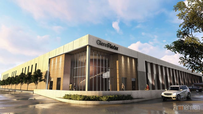 Glenn Rieder Inc.'s new $8 million facility in West Allis will be partly financed with $1.4 million in city funds. The company plans to move there from Milwaukee's north side.