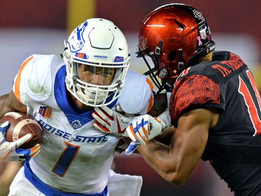 NCAA Football: Boise State at San Diego State