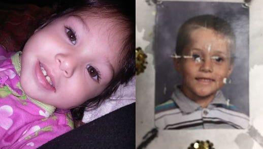 Three-year-old Delylah Tara and 6-year-old Shaun Tara were in the custody of murder suspect Tami Huntsman and Gonzalo Curiel.