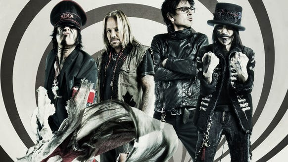 Mötley Crüe's been together for 30 years, sold more