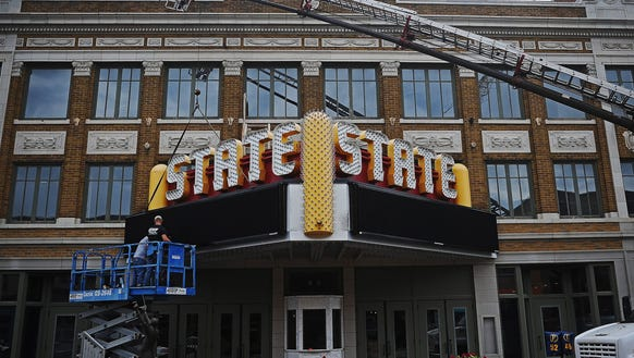 The group trying to restore the State Theater remains