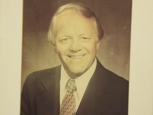 Floyd Oglesby was mayor from 1981-84,  during some of the city's more tumultuous periods. He served during the merger between the city and Battle Creek Township and during key development projects downtown. Oglesby died in 2010. His pictures hangs in City Hall.