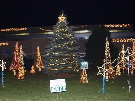 Love Light Tree Holiday Light Show