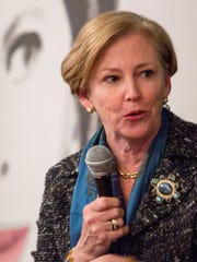 DuPont CEO Ellen Kullman speaks at an event in Greenville