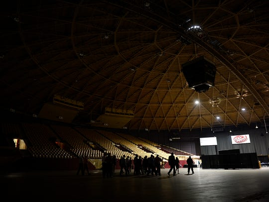 Tour of the Brown County Veterans Memorial Arena during