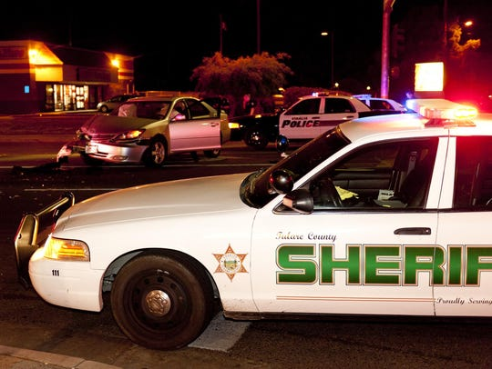 Tulare County Sheriff Department and Visalia Police