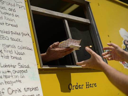 Reps from the Fox Valley Food Truck Rally group will be on hand Thursday for the opening day of Paperfest.