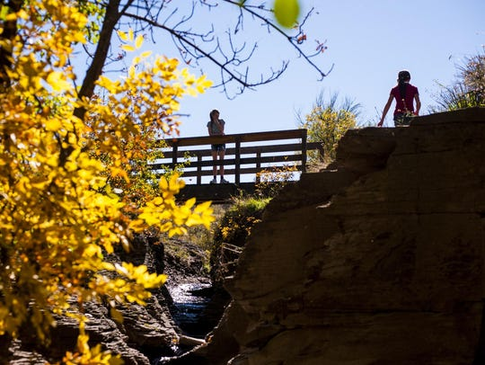 Giant Springs State Park is beautiful in the fall. Montana's state parks newly constituted board met for the first time on Tuesday.