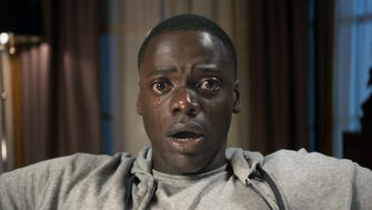 "Chris (Daniel Kaluuya) better heed the warning in the title ""Get Out."""