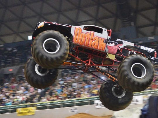 The Outlaw Monster Truck of No Limits Monster Trucks.