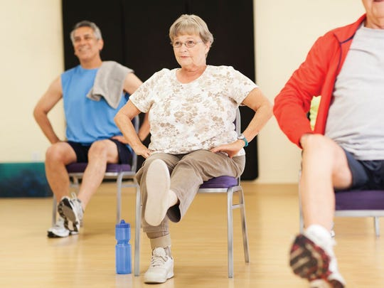 One way to reduce fall risk is by participating in a group fitness classes